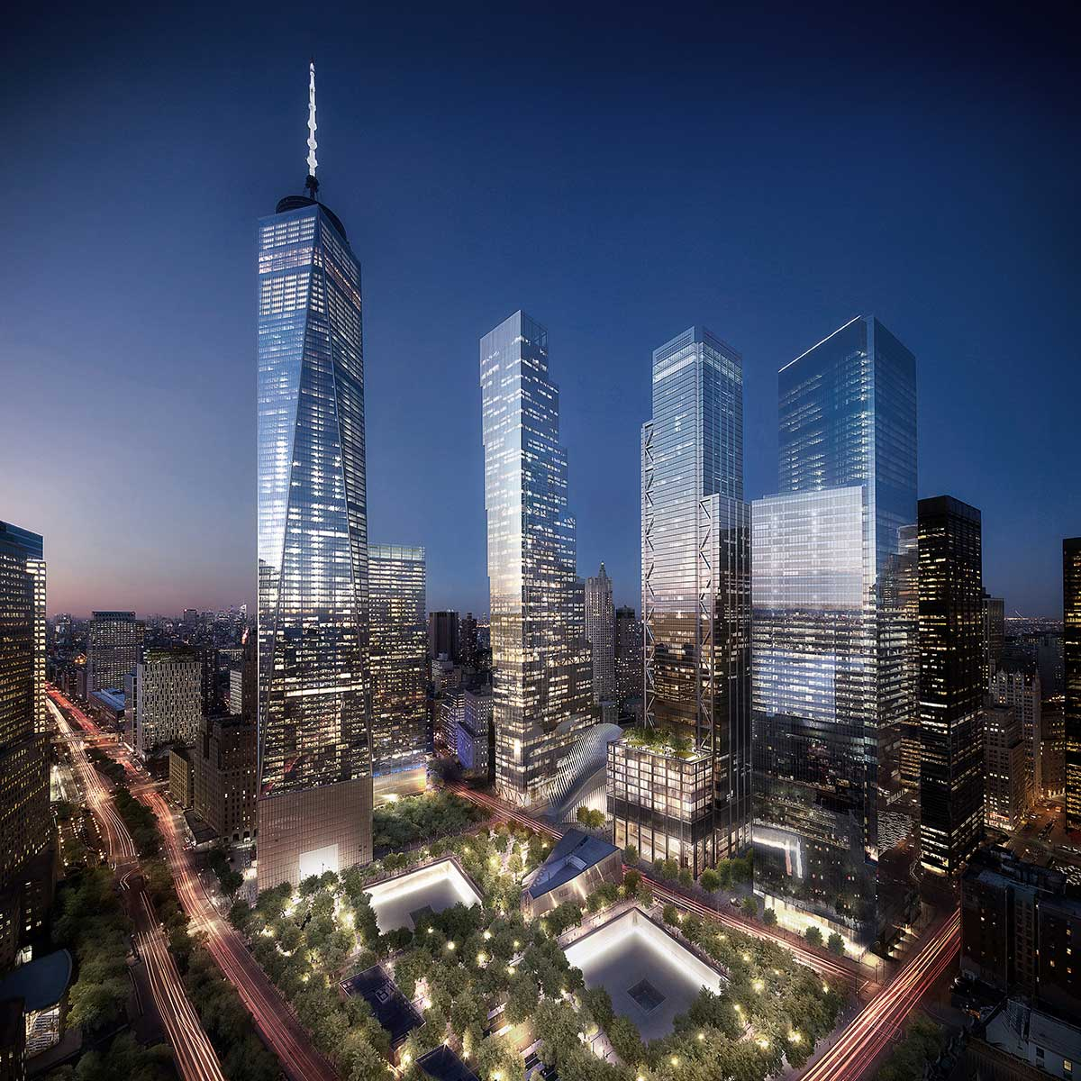 World Trade Center Master Plan  - New York