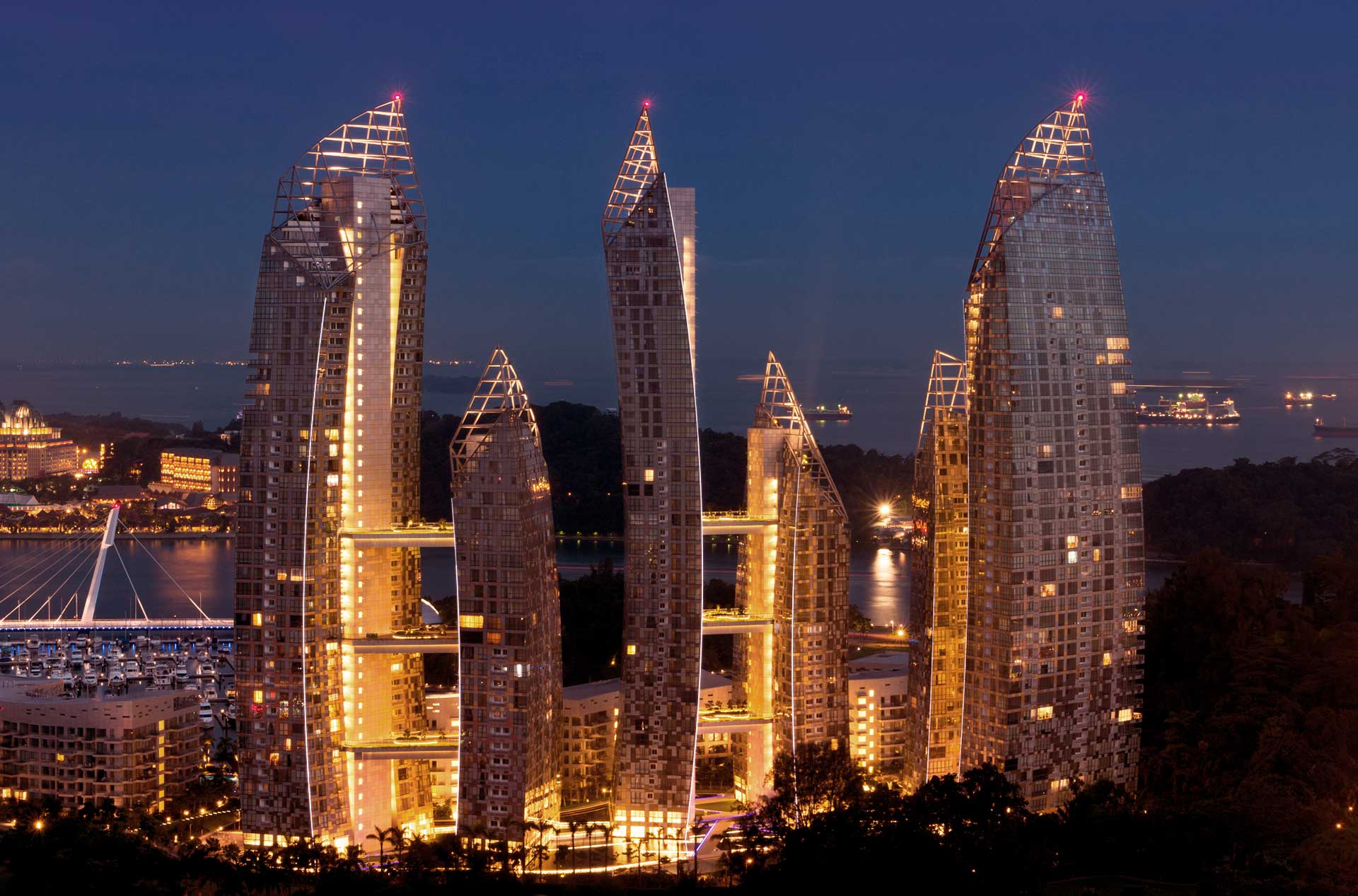 Reflections at Keppel Bay - Singapore
